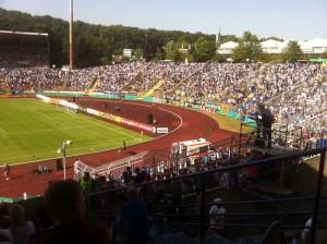 Ludwigspark-Stadion in Saarbrücken
