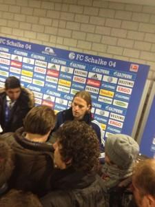 Timo Hildebrand nach dem Spiel Schalke gegen Mönchengladbach.