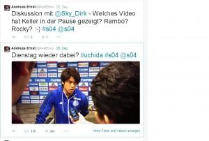 Twitter-Rekord: 170 Retweets für ein Uchida-Foto...