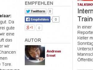 Mein Profilbild auf WAZ.de.