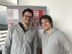 Gemeinsam mit Moderator Jesco von Eichmann von Radio Emscher Lippe diskutierte ich über Fußball.