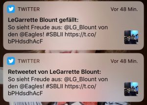 RT von LeGarrette Blount!