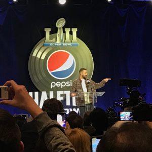Wirklich: Das ist Justin Timberlake.