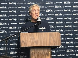 Seahawks-Headcoach Pete Carroll.