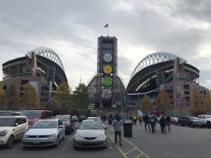 CenturyLink Field am Tag.