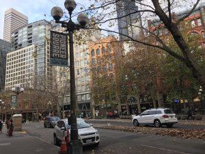 Ältestes Viertel: Pioneer Square.