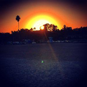 Sonnenuntergang in Santa Barbara!