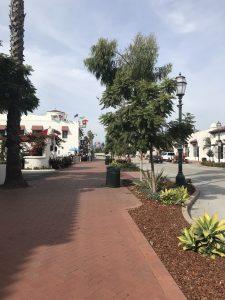 Santa Barbara - wie ein Nordsee-Badeort.