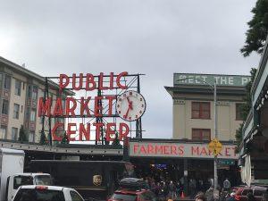 Pike Place Market - erster Gang des Tages.