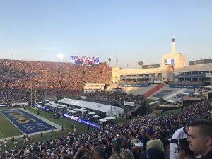 Was für ein berühmtes Stadion!