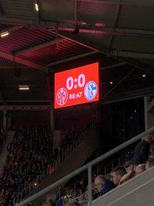 Eins von zwölf Spielen, die ich in Mainz sah - ein 0:0 im Februar 2020.