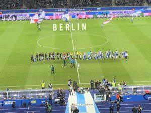 Das Olympiastadion in Berlin - Ausgangspunkt vieler Berlin-Touren mit vielen, vielen Storys.