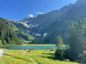 Traumziel: der Hintersee ein paar Kilometer hinter Mitttersill.