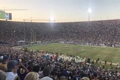 November 2018 - Was für eine Schüssel, das LA Coliseum in Los Angeles.