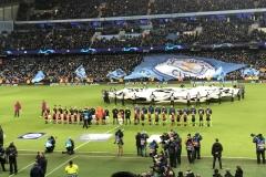 März 2018 - Etihad Stadium, Manchester, vor dem Champions-League-Achtelfinalspiel Manchester City vs. Schalke 04