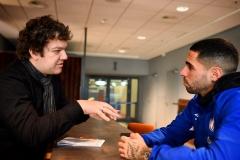 Dezember 2019 - Interview mit Schalke-Kapitän Omar Mascarell