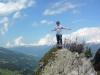 Zillertal 2013 - Auf dem Penkenjoch (2000 Meter) über Finkenberg und Mayrhofen.