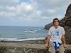 Gomera 2011 - Hermigua, die malerische Bucht an der Playa de la Caleta